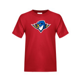 Youth Red T Shirt-Thunderbird Head