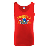Red Tank Top-Arched Established Date