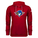 Adidas Climawarm Red Team Issue Hoodie-Thunderbird Head