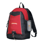 Impulse Red Backpack-Word Mark