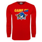 Red Long Sleeve T Shirt-Game On