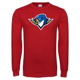 Red Long Sleeve T Shirt-Thunderbird Head