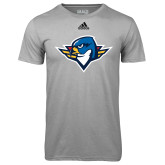 Adidas Climalite Sport Grey Ultimate Performance Tee-Thunderbird Head