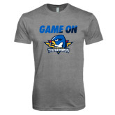 Next Level Premium Heather Tri Blend Crew-Game On