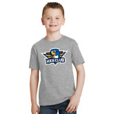 Youth Grey T-Shirt-Kids Club