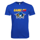 Next Level SoftStyle Royal T Shirt-Game On