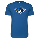 Next Level SoftStyle Royal T Shirt-Thunderbird Head