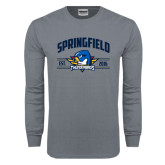 Charcoal Long Sleeve T Shirt-Arched Established Date