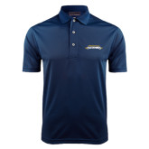 Navy Dry Mesh Polo-Word Mark