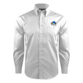 Red House White Dobby Long Sleeve Shirt-Primary Mark