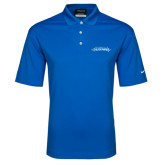 Nike Golf Dri Fit Royal Micro Pique Polo-Word Mark