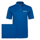 Callaway Magnetic Blue Jacquard Polo-Word Mark
