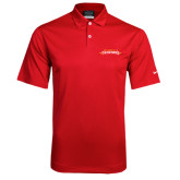 Nike Dri Fit Red Pebble Texture Sport Shirt-Word Mark