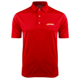 Red Dry Mesh Polo-Word Mark