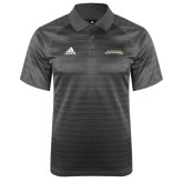 Adidas Climalite Charcoal Jaquard Select Polo-Word Mark