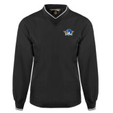 Black Executive Windshirt-Primary Mark