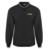 Black Executive Windshirt-Word Mark