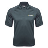 Charcoal Dri Mesh Pro Polo-Word Mark