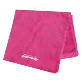 Pink Beach Towel-Word Mark