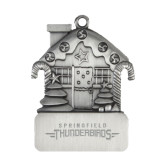 Pewter House Ornament-Word Mark Engraved