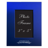 Royal Brushed Aluminum 3 x 5 Photo Frame-Word Mark Engraved