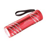 Astro Red Flashlight-Word Mark Engraved