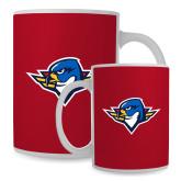 Full Color White Mug 15oz-Thunderbird Head