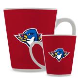 Full Color Latte Mug 12oz-Thunderbird Head