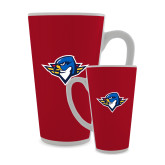 Full Color Latte Mug 17oz-Thunderbird Head