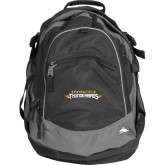 High Sierra Black Titan Day Pack-Word Mark