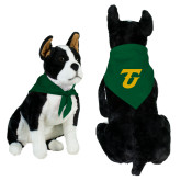 Dark Green Pet Bandana-Athletic TU
