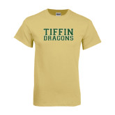 Champion Vegas Gold T Shirt-Tiffin Dragons Outline