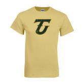 Champion Vegas Gold T Shirt-Primary Logo Distressed