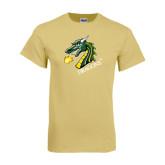 Champion Vegas Gold T Shirt-Dragon with Text