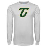 White Long Sleeve T Shirt-Athletic TU