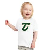 Toddler White T Shirt-Athletic TU