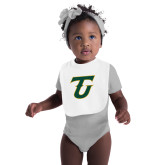 White Baby Bib-Athletic TU
