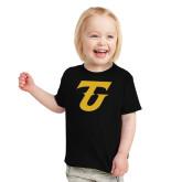 Toddler Black T Shirt-Athletic TU