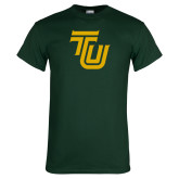 Dark Green T Shirt-University TU