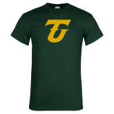 Dark Green T Shirt-Athletic TU