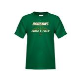 Youth Dark Green T Shirt-Track Lanes