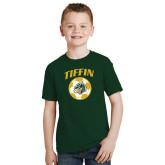 Youth Dark Green T Shirt-Dragons Soccer