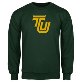 Dark Green Fleece Crew-University TU