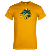 Gold T Shirt-Dragon Head