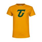 Youth Gold T Shirt-Athletic TU