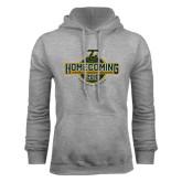 Grey Fleece Hoodie-Homecoming 2016