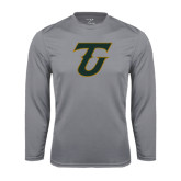 Performance Steel Longsleeve Shirt-Primary Logo