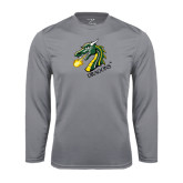 Performance Steel Longsleeve Shirt-Dragon with Text