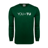 Dark Green Long Sleeve T Shirt-You and TU
