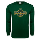 Dark Green Long Sleeve T Shirt-Homecoming 2016